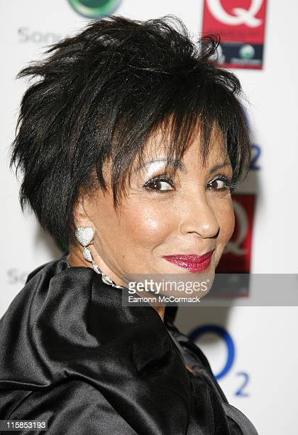 Dame Shirley Bassey attends the Q Awards on October 08 2007 in London England
