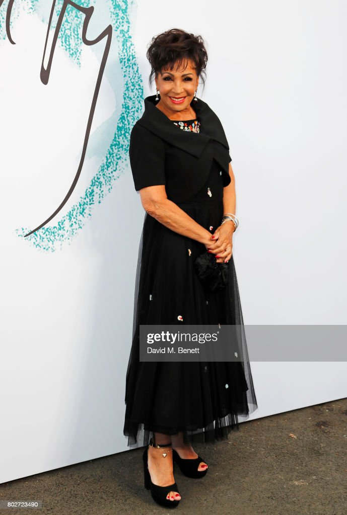 Dame Shirley Bassey attends The Serpentine Galleries Summer Party at The Serpentine Gallery on June 28, 2017 in London, England.
