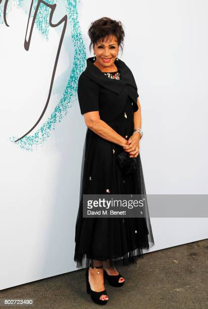 Dame Shirley Bassey attends The Serpentine Galleries Summer Party at The Serpentine Gallery on June 28 2017 in London England