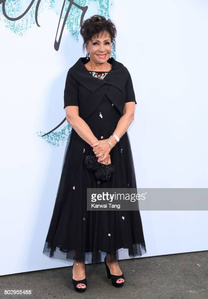 Dame Shirley Bassey attends The Serpentine Gallery Summer Party at The Serpentine Gallery on June 28 2017 in London England