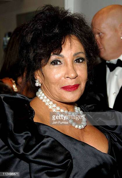 Dame Shirley Bassey during 'Casino Royale' World Premiere Inside Arrivals at Odeon Leicester Square in London Great Britain