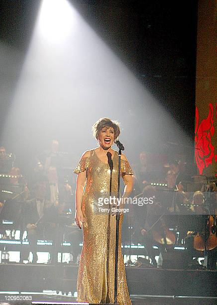 Dame Shirley Bassey during The 77th Royal Variety Performance Show at Wales Millennium Centre in Cardiff Great Britain