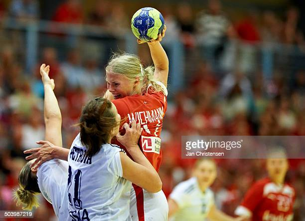 Dame U19 semifinal Russia vs Denmark Amalie Wichmann © Jan Christensen/FrontzoneSportdk