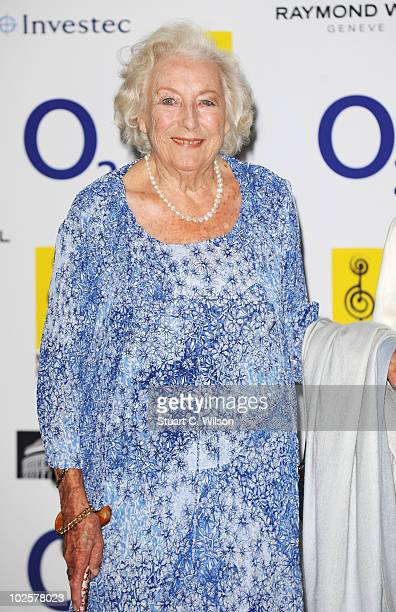 Dame Vera Lynn arrives at the O2 Silver Clef Awards 2010 at the London Hilton on July 2 2010 in London England