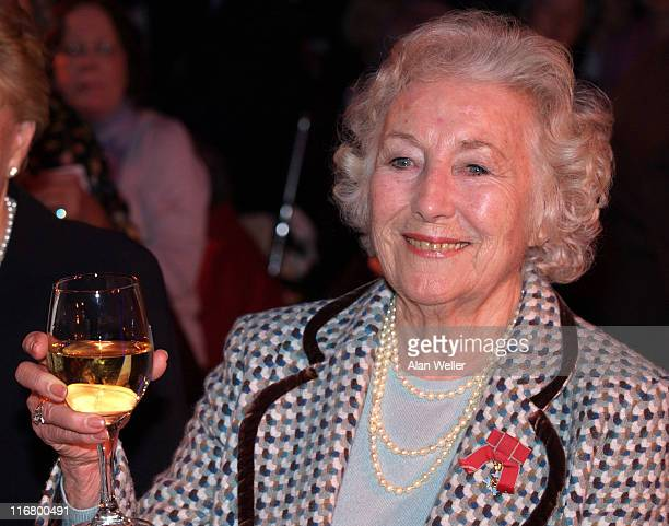Dame Vera Lynn during Dame Vera Lynn's 90th Birthday Luncheon at Imperial War Museum in London Great Britain