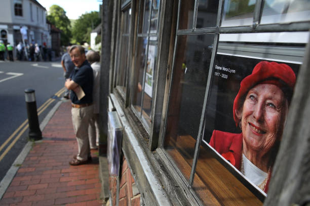 GBR: The Funeral Of Dame Vera Lynn