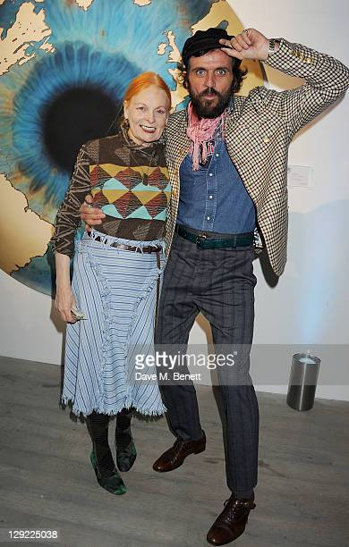 Dame Vivienne Westwood and Andreas Kronthaler attend 'Arts For Human Rights' the inaugural Bianca Jagger Human Rights Foundation Gala supported by...