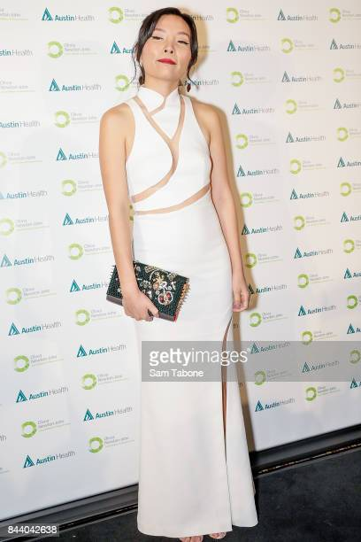 Dami Im attends the Olivia NewtonJohn Gala Red Carpet at Crown Palladium on September 8 2017 in Melbourne Australia