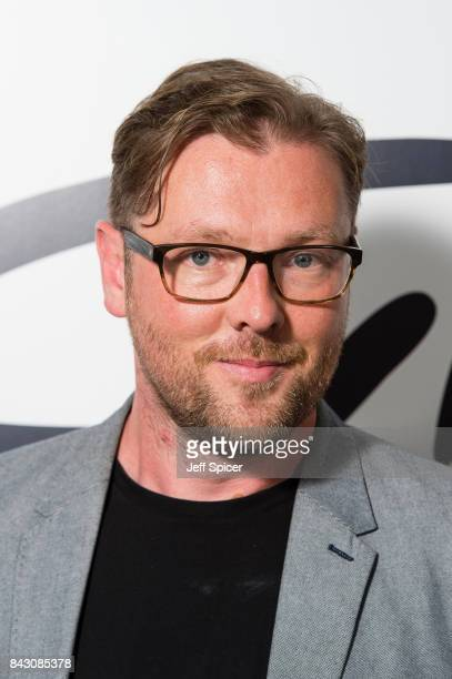 Damian Barr arrives for the David Gilmour 'Live At Pompeii' premiere screening at Vue West End on September 5 2017 in London England