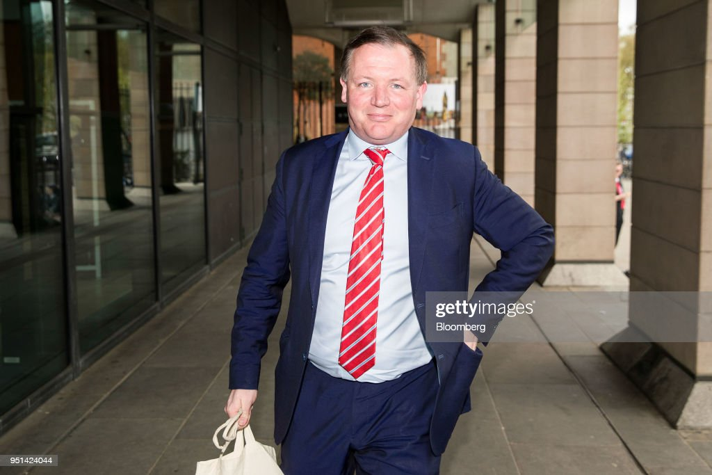 Damian Collins, chairman of U K  House of Commons' digital culture