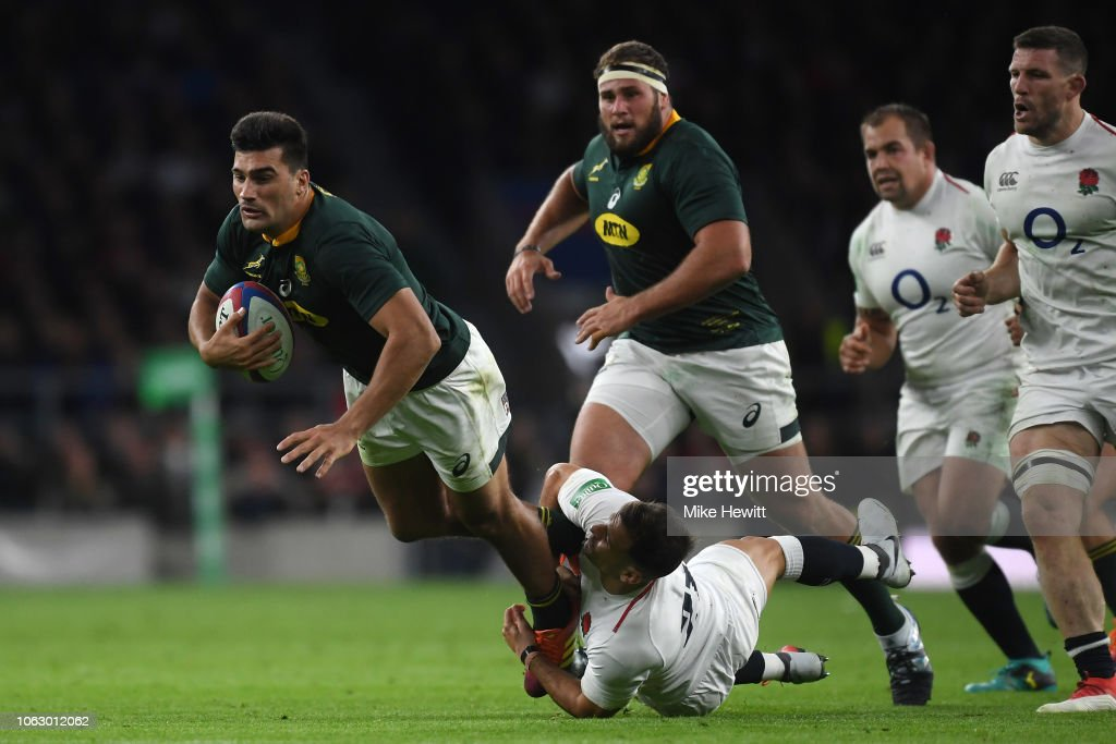 England v South Africa - Quilter International : News Photo
