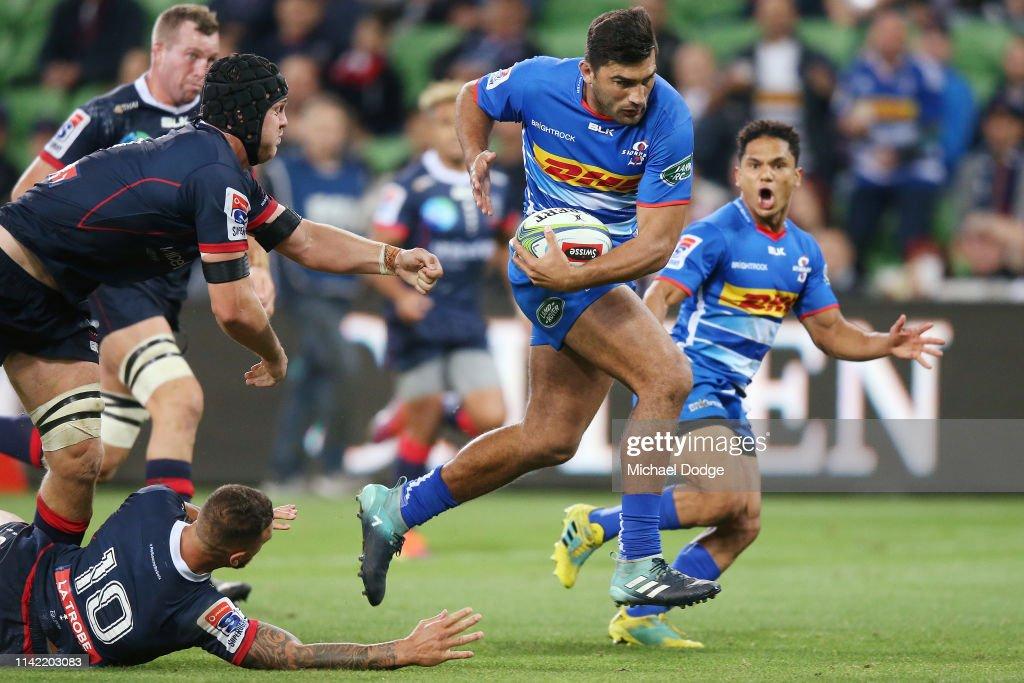 Super Rugby Rd 9 - Rebels v Stormers : News Photo