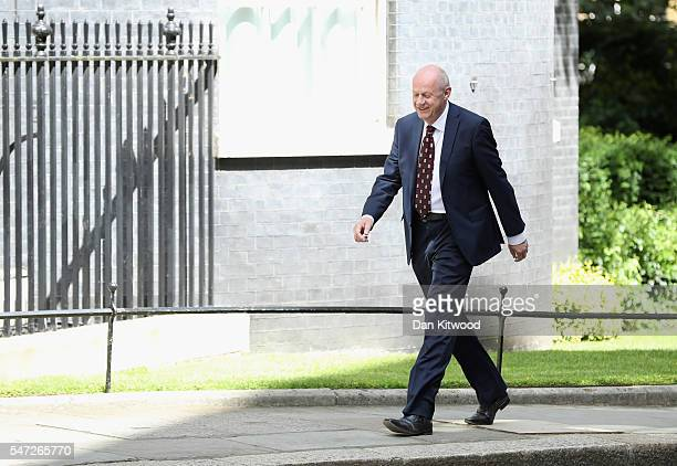 Damian Green arrives at 10 Downing Street where he was appointed as Work and Pensions Secretary on July 14 2016 in London England The UK's New Prime...