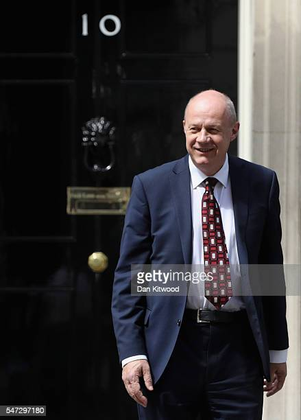Damian Green leaves 10 Downing Street where he was appointed as Work and Pensions Secretary as Prime Minister Theresa May continues to appoint her...