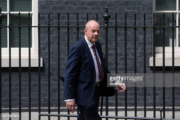 Damian Green UK work and pension secretary leaves 10 Downing Street in London UK on Thursday July 2016 Theresa May announced her team to negotiate...