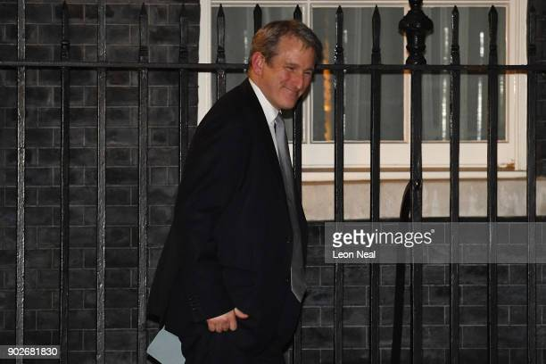Damian Hinds leaves 10 Downing Street after being appointed as Secretary of State for Education as Prime Minister Theresa May reshuffles her cabinet...
