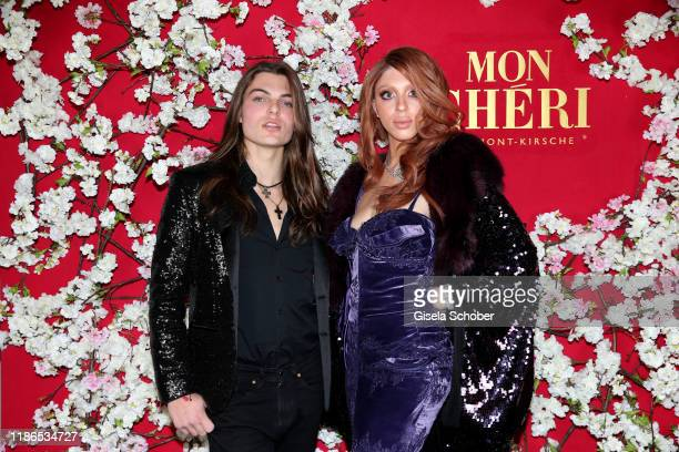 Damian Hurley son of Elizabeth Liz Hurley and Anna Ermakova daughter of Boris Becker during the 10th Mon Cheri Barbara Tag at Isarpost on December 4...
