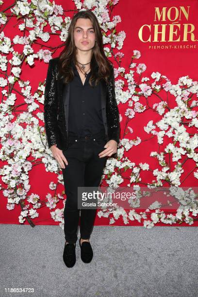 Damian Hurley son of Elizabeth Liz Hurley during the 10th Mon Cheri Barbara Tag at Isarpost on December 4 2019 in Munich Germany