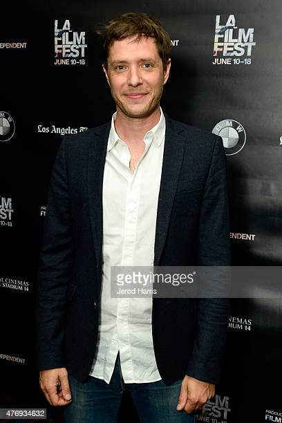Damian Kulash of OK Go attends The Music Videos of OK Go screening during the 2015 Los Angeles Film Festival at Regal Cinemas LA Live on June 12 2015...