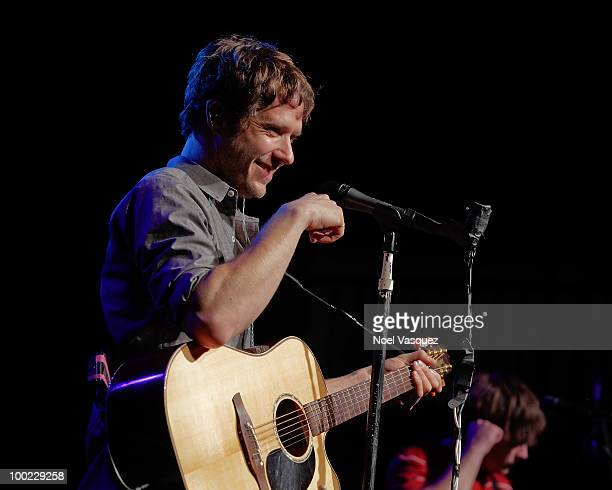 Damian Kulash of OK GO performs at the GRAMMY Foundation GRAMMY SoundChecks program with OK Go hosted with The Recording Academy's Los Angeles...