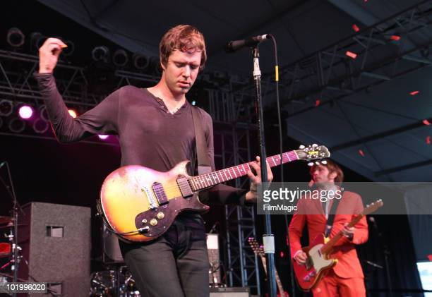 Damian Kulash of OK Go performs onstage during Bonnaroo 2010 at The Other Tent on June 11 2010 in Manchester Tennessee