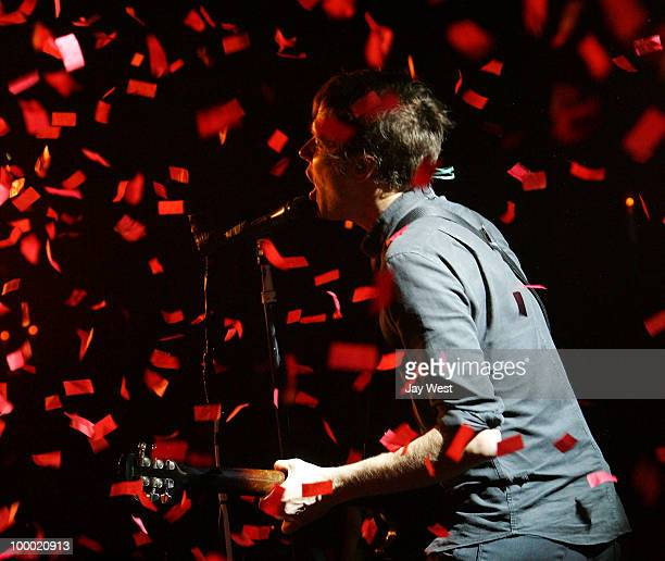 Damian Kulash of OKGo performs in concert at The Parish on May 19 2010 in Austin Texas