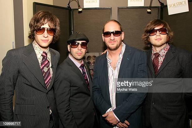 Damian Kulash Tim Nordwind Dan Konopka and Andy Ross of OK Go