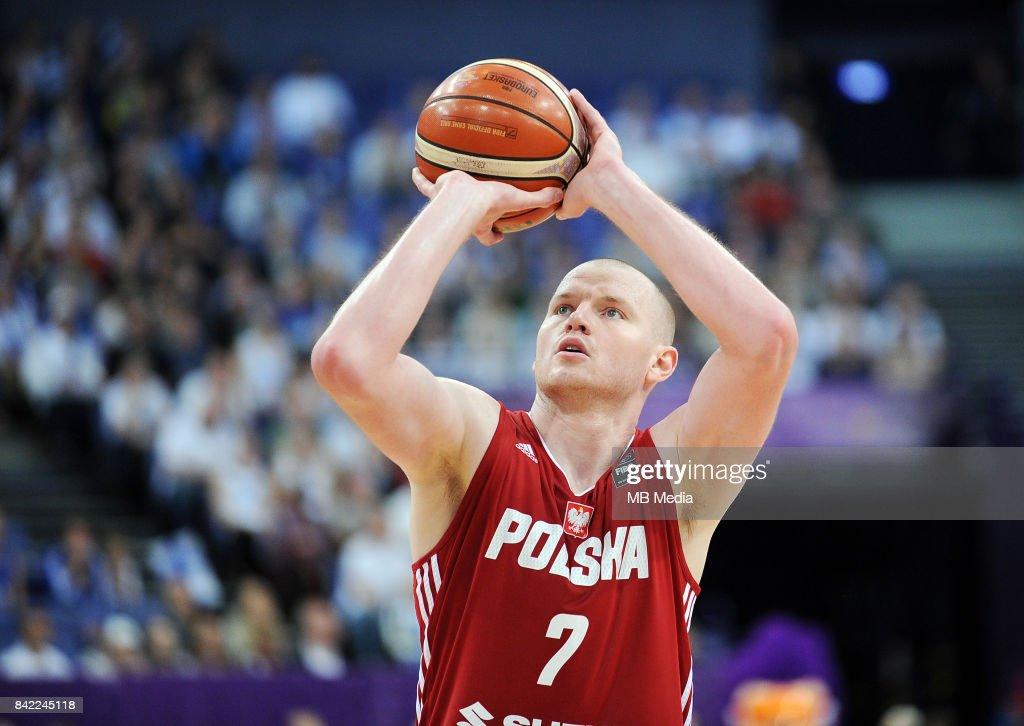 Damian Kulig of Poland during the FIBA Eurobasket 2017 Group A match between Finland and Poland on September 3, 2017 in Helsinki, Finland.
