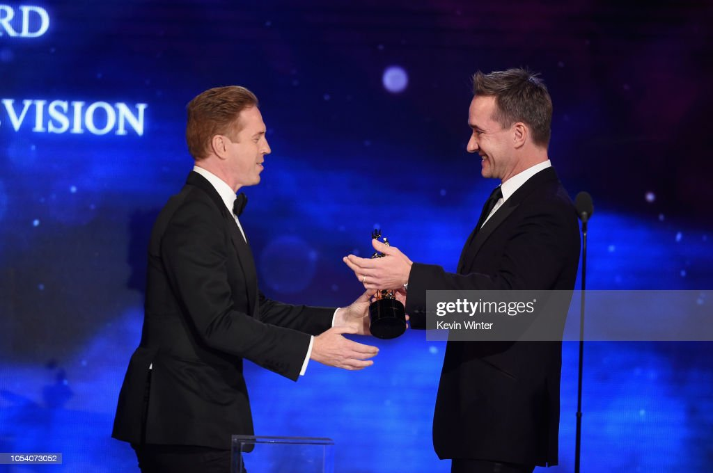 2018 British Academy Britannia Awards presented by Jaguar Land Rover and American Airlines - Show : ニュース写真