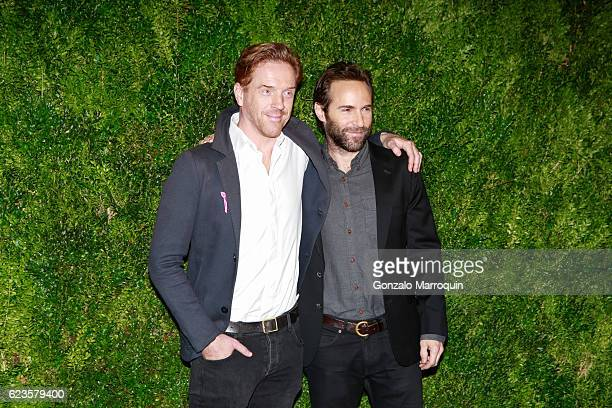 Damian Lewis and Alessandro Nivola at theThe Museum of Modern Art Film Benefit: A Tribute to Tom Hanks at The Museum of Modern Art on November 15,...