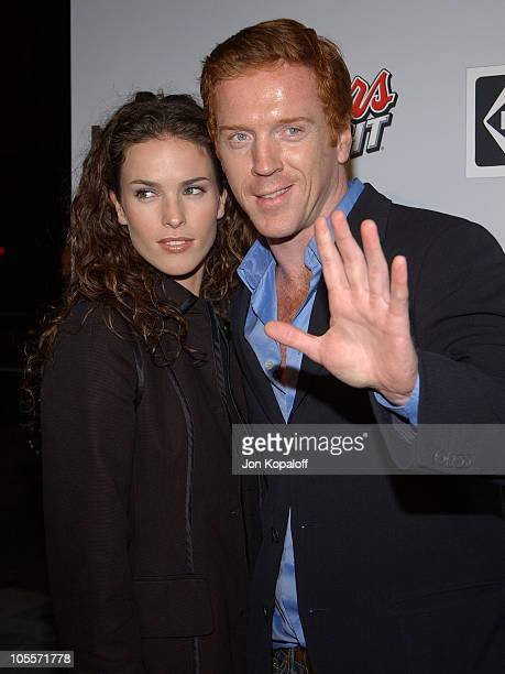 Damian Lewis and Chantal Cousineau during Finding Neverland Los Angeles Premiere Arrivals at The Academy of Motion Picture Arts and Sciences in...