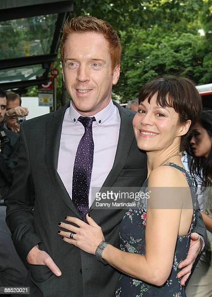 Damian Lewis and friend attend the press night of 'Ballets Russes' at Sadler's Wells Theatre on June 16, 2009 in London, England.