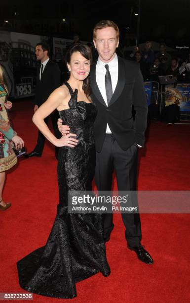 Damian Lewis and Helen McCrory arrive for the Royal Film Performance 2011 of Hugo at the Odeon Cinema in Leicester Square London