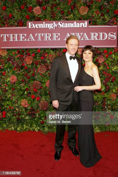 Damian Lewis and Helen McCrory attend 65th Evening Standard theatre Awards in association with Michael Kors at the London Coliseum on November 24,...