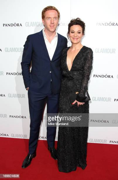 Damian Lewis and Helen McCrory attend Glamour Women of the Year Awards 2013 at Berkeley Square Gardens on June 4 2013 in London England