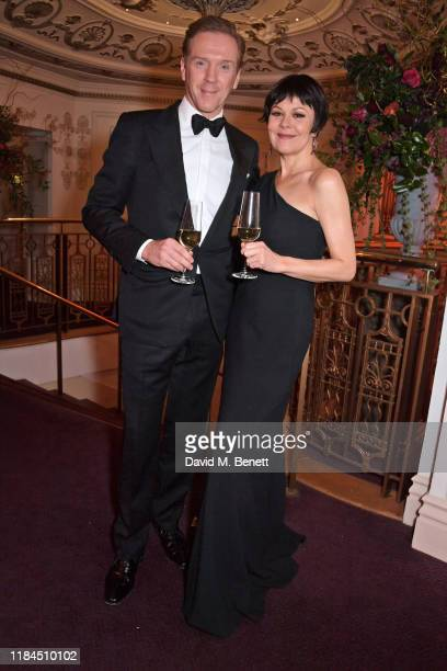 Damian Lewis and Helen McCrory attend the 65th Evening Standard Theatre Awards in association with Michael Kors at the London Coliseum on November 24...
