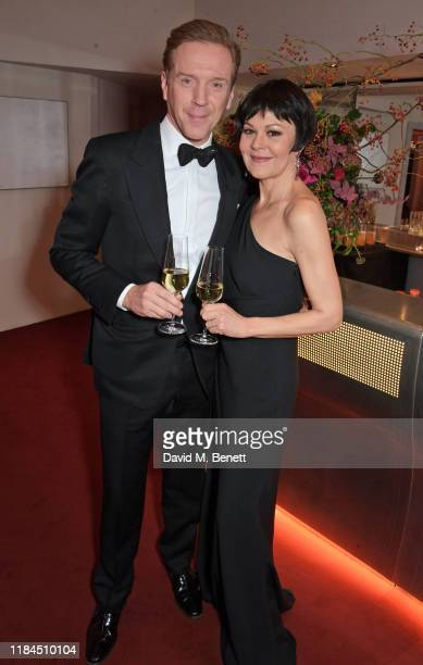 Damian Lewis and Helen McCrory attend the 65th Evening Standard Theatre Awards in association with Michael Kors at the London Coliseum on November...