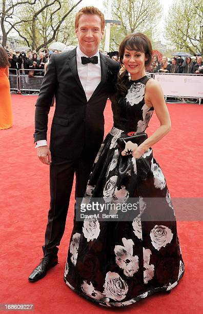 Damian Lewis and Helen McCrory attend the Arqiva British Academy Television Awards 2013 at the Royal Festival Hall on May 12 2013 in London England