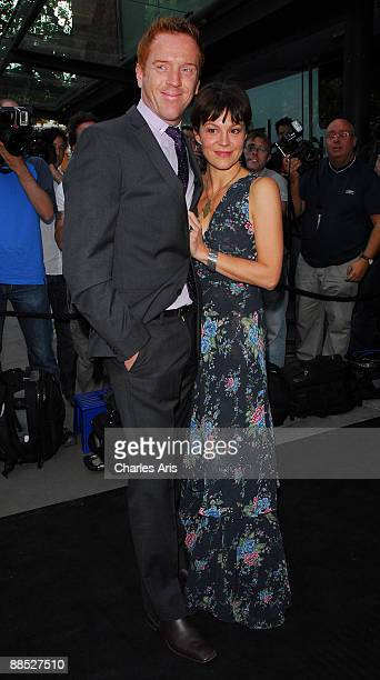Damian Lewis and Helen McCrory attend The Ballets Russes Season Party at The Sadler's Wells Theatre on June 16 2009 in London England