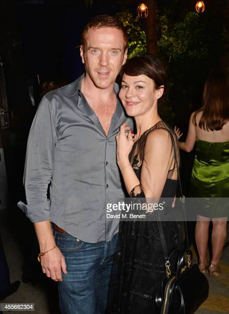 Damian Lewis and Helen McCrory attend the Bright Young Things Gala 2014, a Young Patrons of the National Theatre gala event in support of emerging...