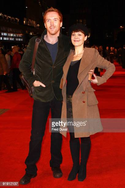 Damian Lewis and Helen McCrory attend the Gala Screening of 'Men Who Stare At Goats' during The Times BFI London Film Festival at Odeon Leicester...