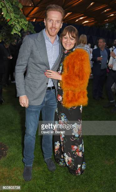 Damian Lewis and Helen McCrory attend The Serpentine Galleries Summer Party cohosted by Chanel at The Serpentine Gallery on June 28 2017 in London...