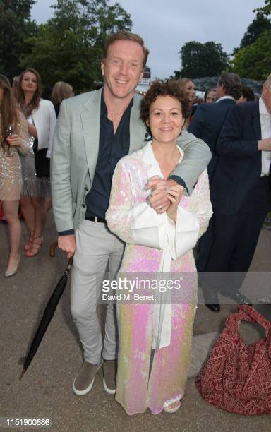 Damian Lewis and Helen McCrory attend The Summer Party 2019, presented by Serpentine Galleries & Chanel, and hosted by Michael R. Bloomberg, Hans...