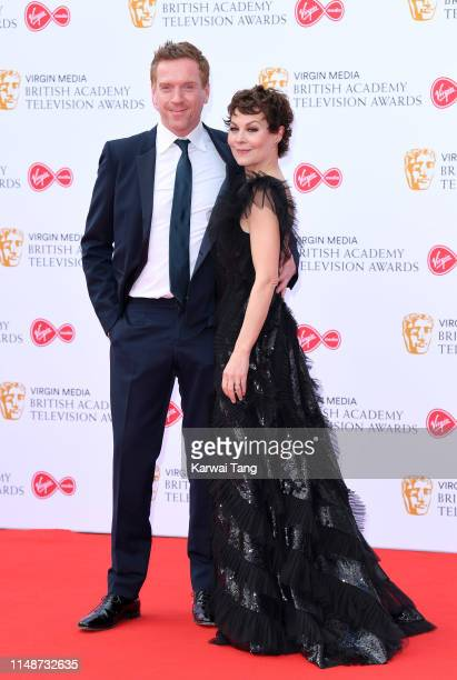 Damian Lewis and Helen McCrory attend the Virgin Media British Academy Television Awards 2019 at The Royal Festival Hall on May 12 2019 in London...