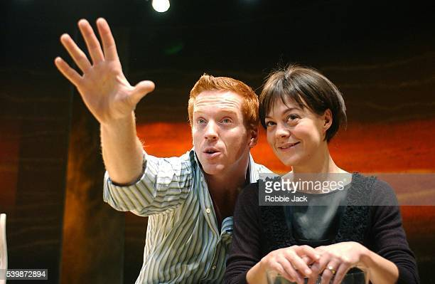 """Damian Lewis and Helen McCrory in the production """"Five Gold Rings"""" at the Almeida Theatre London. Robbie Jack/Corbis"""