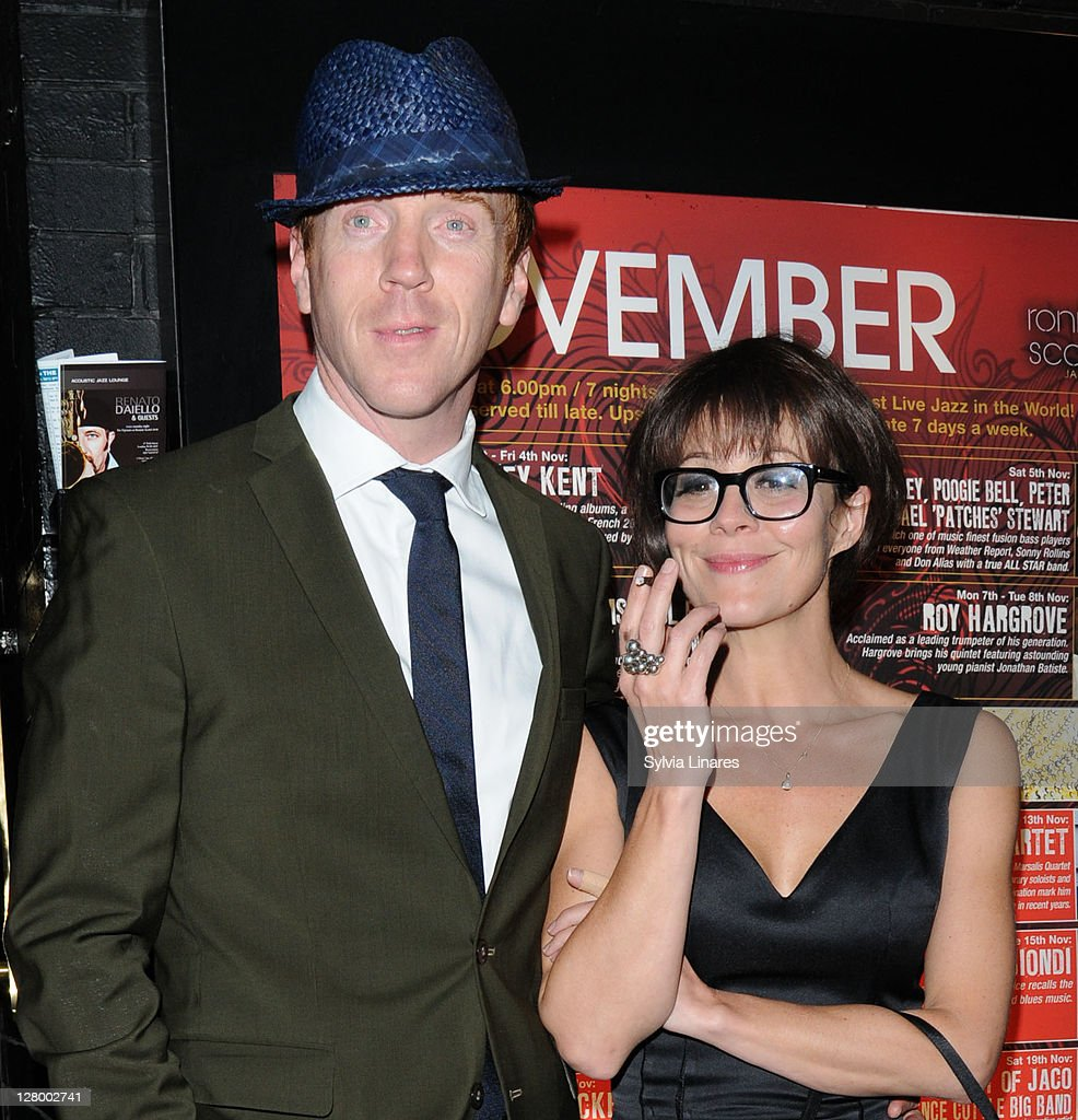 Helen Mccrory Leaving damian lewis and helen mccrory leave ronnie scott's jazz