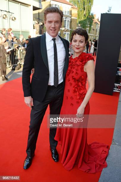 Damian Lewis and Helen McCrory, wearing Buccellati, attend The Old Vic Bicentenary Ball to celebrate the theatre's 200th birthday at The Old Vic...