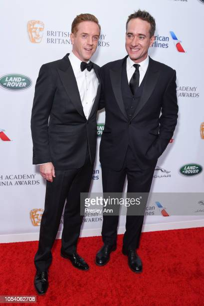 Damian Lewis and Matthew McFadyen attend the 2018 British Academy Britannia Awards presented by Jaguar Land Rover and American Airlines at The...