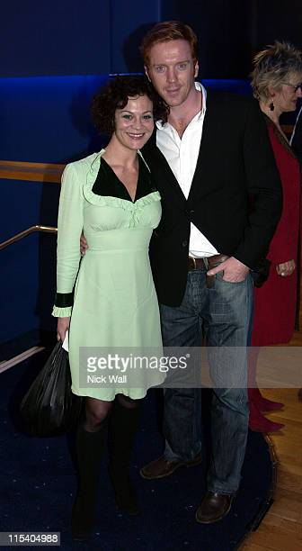 "Damian Lewis and wife Helen during The Times BFI London Film Festival 2005 - ""Keane"" at Odeon West End in London, Great Britain."