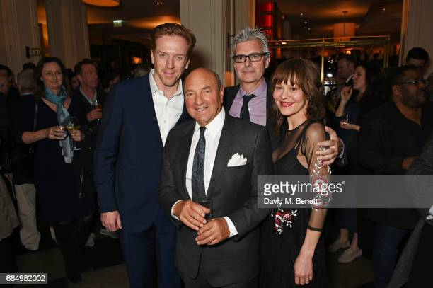 Damian Lewis Arnold Crook producer Matthew Byam Shaw and Helen McCrory attend the press night after party for Edward Albee's The Goat Or Who Is...